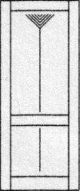 Design porte intérieure 303