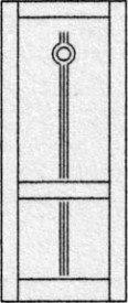 Design porte intérieure 313