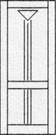 Design porte intérieure 317