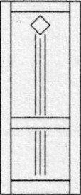 Design porte intérieure 318
