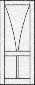 Design porte intérieure 327