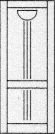 Design porte intérieure 345