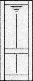 Design porte intérieure 368