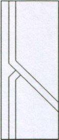 Porte intérieure design 202