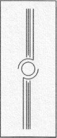 Porte intérieure design 207