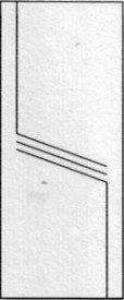 Porte intérieure design 210