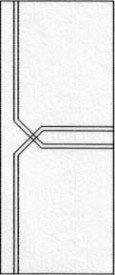 Porte intérieure design 287