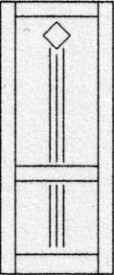 Design binnendeur 318