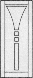 Design porte intérieure 406