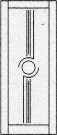 Design binnendeur 407