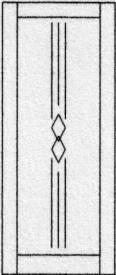 Design porte intérieure 408