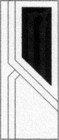 Porte intérieure design 502