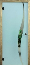 Binnendeur in glas 628