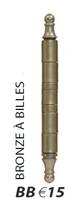 Charniere bronze BB