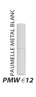 Paumelle métal blanc PMW