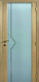 Binnendeur in glas S622