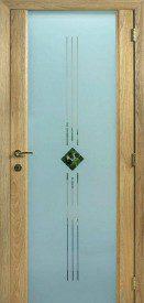 Binnendeur in glas S624