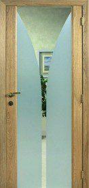 Binnendeur in glas S627