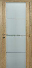 Binnendeur in glas S644.1