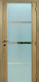 Binnendeur in glas S644