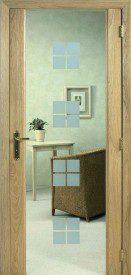 Binnendeur in glas SN600
