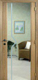 Binnendeur in glas SN622