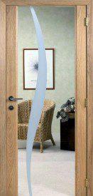 Binnendeur in glas SN628