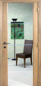 Binnendeur in glas SN644.1