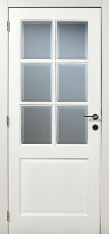 Porte à peindre V57 verre biseauté