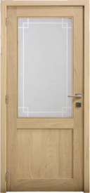 Porte intérieure chêne CE63.1