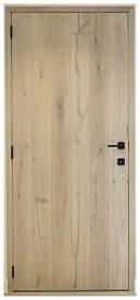 Half-massieve planchetten deur