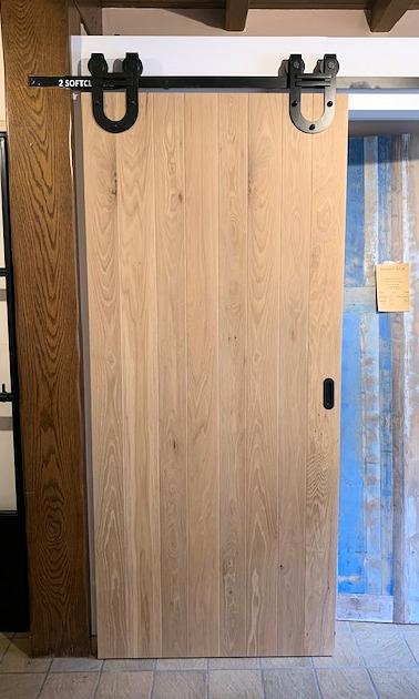 Loftdeur of barndeur met planchetten