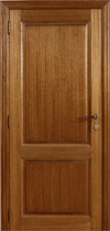 Den en meranti massieve deuren